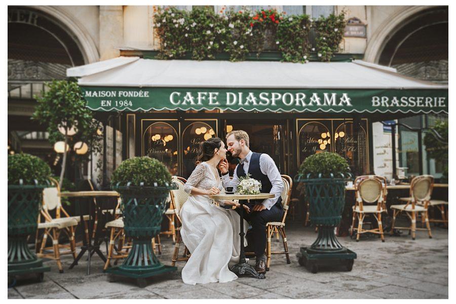 Casamento com vista para a Torre Eiffel